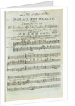 Broadsheet ballad 'The maiden's lamentations for the loss of her Sailor' by Mantz Finsbury