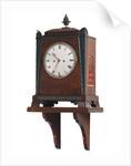 Bracket clock by Crick