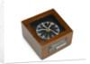 Quartz marine chronometer in case by unknown