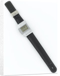 Wristwatch face and strap by Junghans