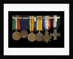 Medals awarded to Commander H. J. Bray DSC (reverse, right to left, MED1093-1098) by unknown