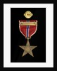 Bronze Star Medal, reverse by unknown