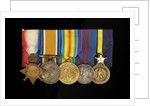 Medals awarded to Admiral Sir W. Reginald Hall (obverse, left to right, MED1988-1992) by unknown