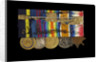 Medals awarded to Admiral Sir W. Reginald Hall (reverse, right to left, MED1988-1992) by unknown
