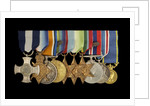 Medals awarded to Vice-Admiral Robert Don Oliver (obverse, l to r, MED2043-2052) by Garrard & Co.
