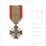 Croix de Guerre 1939, reverse by unknown