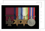 Medals awarded to Able Seaman William A. Savage VC (obverse, l to r, MED2108-2111) by Hancocks & Co