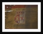 Spanish naval ensign, top right quarter detail by unknown