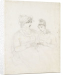 Emma Hamilton and Charlotte Nelson by Thomas Baxter