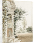 A portico at Merton, probably the main entrance by Thomas Baxter