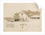 A view of buildings near Merton (possibly Merton Farm) by Thomas Baxter
