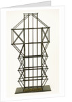 Model scaffolding used for Nelson's Column by unknown