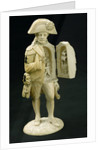 Statuette depicting Vice-Admiral Horatio Nelson (1758-1805) by unknown