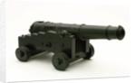 Model of a 32-pounder gun by unknown