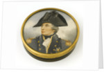 Box commemorating Vice-Admiral Horatio Nelson (1758-1805) by Arthur William Devis