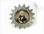 Miniature painting depicting Vice-Admiral Horatio Nelson (1758-1805) by Lemuel Francis Abbott