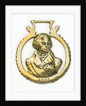 Horse brass commemorating Vice-Admiral Horatio Nelson (1758-1805) by unknown