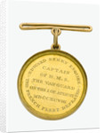 Naval Gold Medal (Captain's) for the Battle of the Nile, 1798, reverse by Lewis Pingo