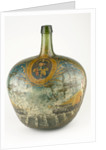 Large liqueur or gin bottle commemorating Vice-Admiral Horatio Nelson (1758-1805) by unknown