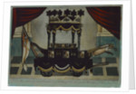 A Correct Representation of the Funeral Car which conveyed the Body of Lord Nelson from the Admiralty to St Paul's' by W.B. Walker