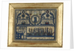 Cut paper picture (découpage) commemorating Vice-Admiral Horatio Nelson (1758-1805) by unknown