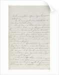 Letter from Napoleon to Admiral Ganteaume by Napoleon Bonaparte