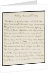Letter from Horatio Nelson to Emma Hamilton, March 1805 by Horatio Nelson