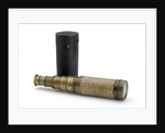 Adams's New Patent Portable Telescope - with case by Adams
