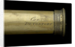 Pocket telescope - draw tube inscription by William Charles Cox