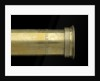 Pocket telescope - draw tube inscription by Gilbert & Co.