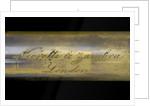 Pocket telescope - draw tube inscription by Negretti & Zambra