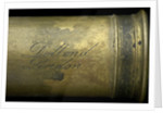 Pocket telescope - draw tube inscription by Dollond