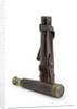Pocket telescope with case by unknown