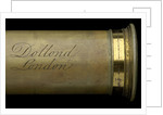 Pocket telescope - draw tube inscription by Dollond