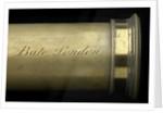Portable telescope- draw tube inscription by Bate