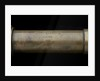 Gun-sighting telescope- barrel inscription by W. Ottway & Co. Ltd.