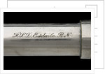 Officer of the Watch telescope- draw tube inscription by Cary
