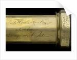 Day or night telescope- draw tube inscription by Thomas Harris & Son