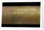 Naval telescope - inscription by Hutchinson & Jackson
