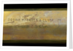 Naval telescope - inscription by Dobbie McInnes & Clyde Ltd.