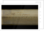 Rangefinder - inscription by William Watkins
