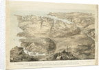 A Panoramic View of the Entrenched Position of the Allied Armies of England & France Before Sebastopol by unknown