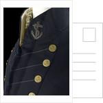Surgeon Full dress coat  - Royal Naval uniform: pattern 1825-1832 by unknown