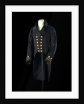 Undress coat, Royal Naval uniform: pattern 1825-1827 by R. Norton