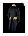 Full dress coat - back, Royal Naval uniform: pattern 1843 by Clancy