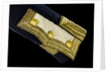 Full dress coat - cuff detail, Royal Naval uniform: pattern 1843 by Clancy