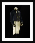 Full dress coat, Indian Naval uniform: pattern 1828 by Jennens