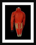 Coatee - back, Royal Marines uniform: pattern 1830 by unknown