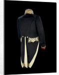 Full dress coat - back, Civil court dress: 1837 by Boggett & Co.