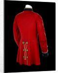 Tunic - back, Royal Marines Light Infantry uniform: pattern 1856-1863 by J. & C. Linney